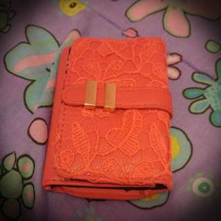 Pink Lace Wallet