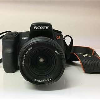 Sony A200 DSLR