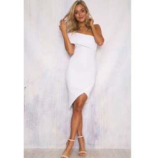 Size 6 white 'Sundays the Label' Lily dress