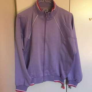 pastal purple pink asics jumper