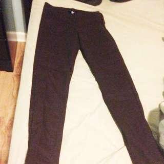 H&M Plum Pants