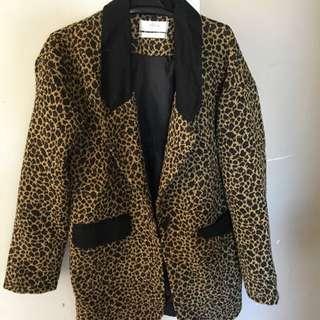 Leopard Blazer