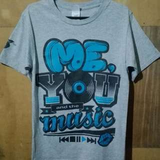 Me, You And The Music Tshirt