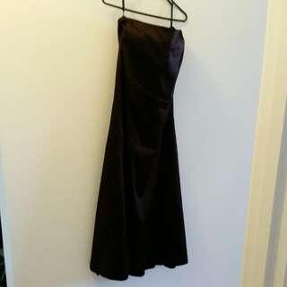 Long Skirt Or Strapless Dress - UK  Brand Size 12