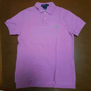 ORIGINAL AUTHENTIC POLO RALH LAUREN PURPLE SIZE M