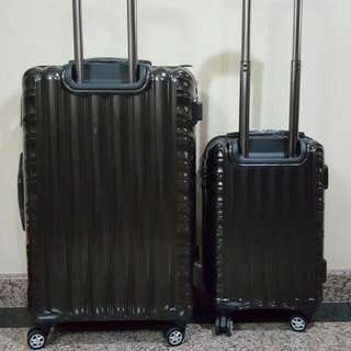 4 Roller Wheels Luggage Bags Come With TSA Lock