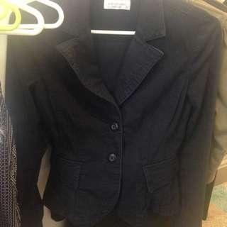 Vintage Styled Portmans Navy Corduroy Jacket