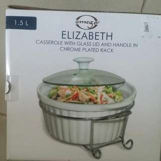 Casserole With GLASS Lid And Handle