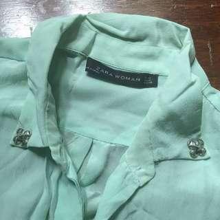 Zara Silk Shirt - Tosca