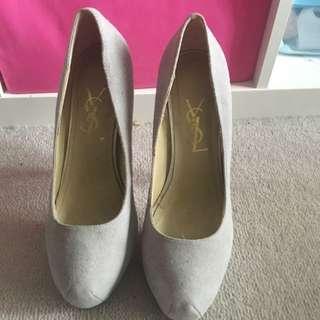 Used Like New Ysl High Heels