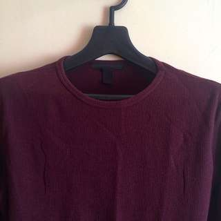 Forever 21 Maroon Long Sleeve