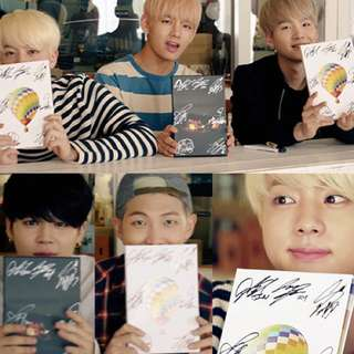 BTS ( SIGNED ALBUM ) YOUNG FOREVER DAY & NIGHT VER.