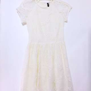 H&M Cream Dress