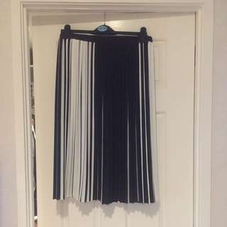 Topshop Monochrome Skirt