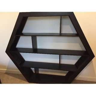 Hexagon Bookshelves