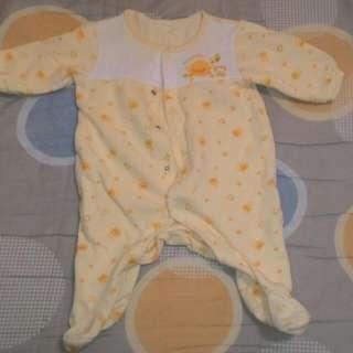 黃色小鴨 0~3M 包腳裝