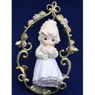 BNIB Precious Moments Ornaments In God's Beautiful Garden Of Love, 261599