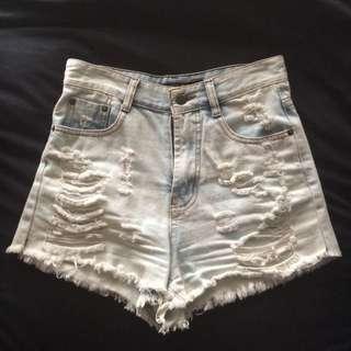 Paper Heart Shorts