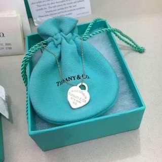 RETURN TO TIFFANY™ HEART TAG PENDANT (SMALL)