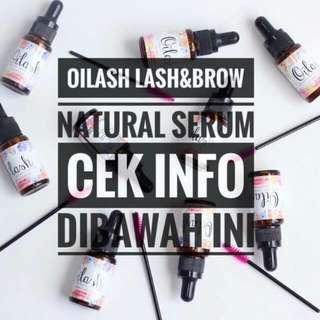 Oilash Serum 2 In 1