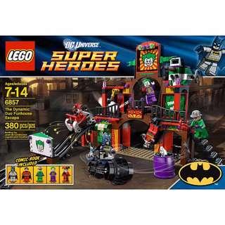 6857 The Dynamic Duo Funhouse Escape - Batman - DC comics - Super Hero