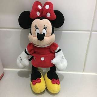 Official Disney Minnie Mouse Plushie
