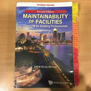 PF3301 Maintainability of Facilities