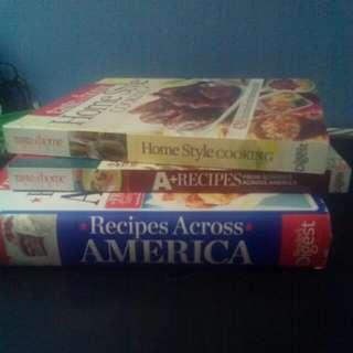 3 Taste Of Home Cookbooks