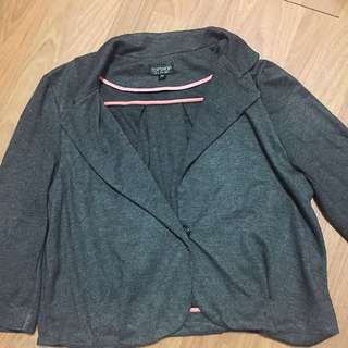 Topshop Cropped Outer