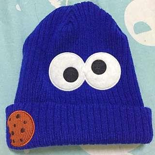 (環球影城)Cookie Monster毛帽✨✨