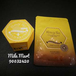 [P.O] Honey Bee Combo Set