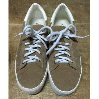 麂皮厚底鞋、休閒鞋
