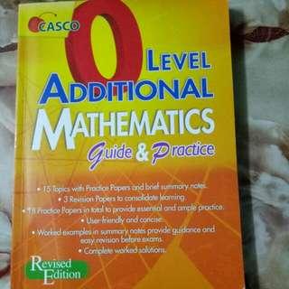 BN O Level Additional Mathematics