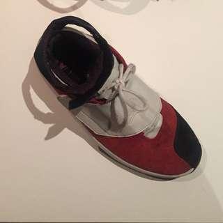 Jordan's 20s Red, White, Black Size 11