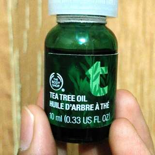 Tea Tree Oil- The Body Shop