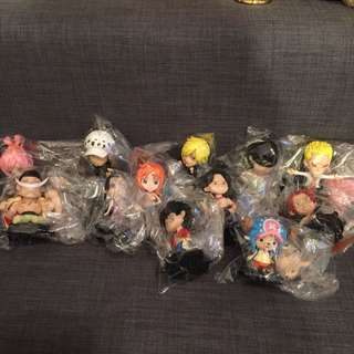 One Piece 7 Eleven Collection Set