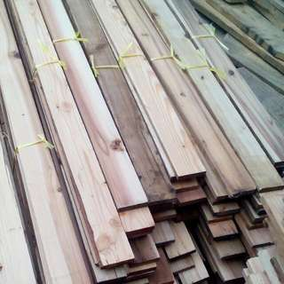 Pine Wood Siap Ketam Paling Murah !
