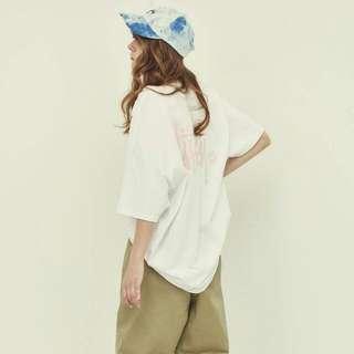 Stussy 白底粉字 短袖上衣 保證正品 日本帶回