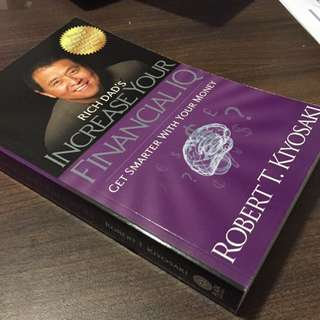 (Rare!) (35% Off) Rich Dad's INCREASE YOUR FINANCIAL IQ: Get Smart With Your Money by Robert T. Kiyosaki