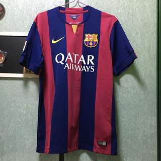 Authentic Barcelona Jersey Size m