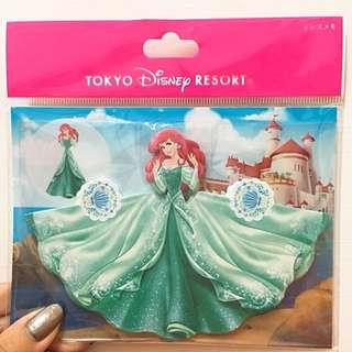 Disney 愛麗兒立體便條紙 (日本迪士尼)