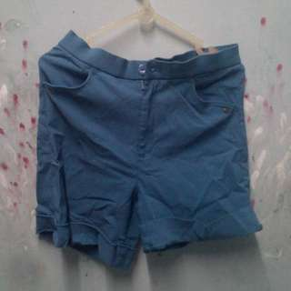 Highwaist Hot Pants Free Ongkir