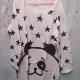 Tunik Panda Dress FREE ONGKIR.