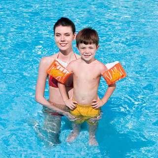 Pelampung Anak Ban Tangan Dolphin Armbands Bestway #32042 - Orange