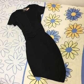 BNWT Black Bodycon Dress