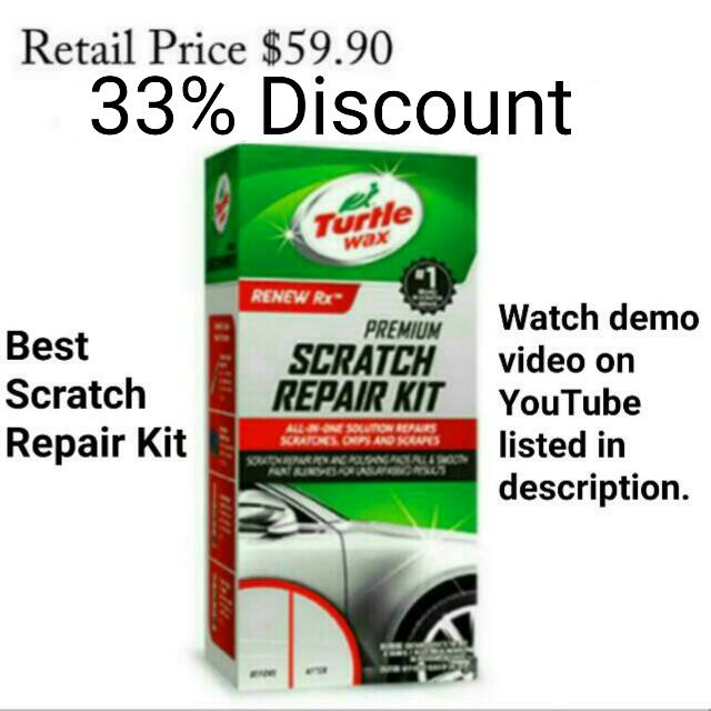 Currently No Stock 40 Paint Repair Kit Turtle Wax Scratch