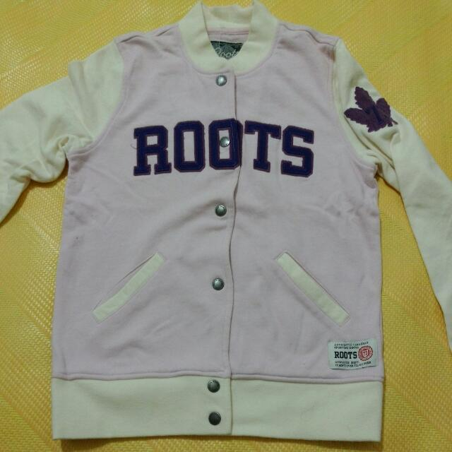 二手 Roots棒球外套