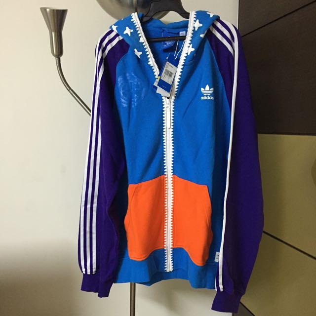 Adidas男棉質外套