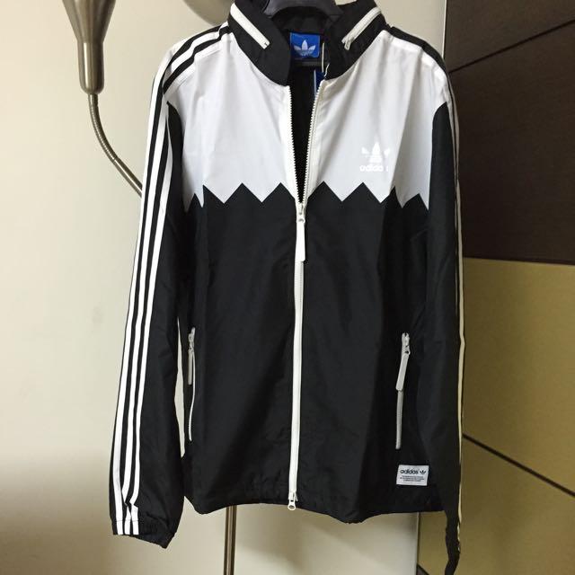 Adidas 男防風外套