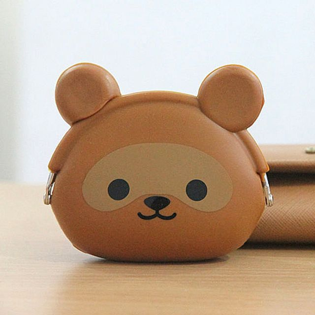 Animal Character Coin Pouch